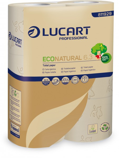 Toilettenpapier ECO-Natural Tetrapack-Recycling