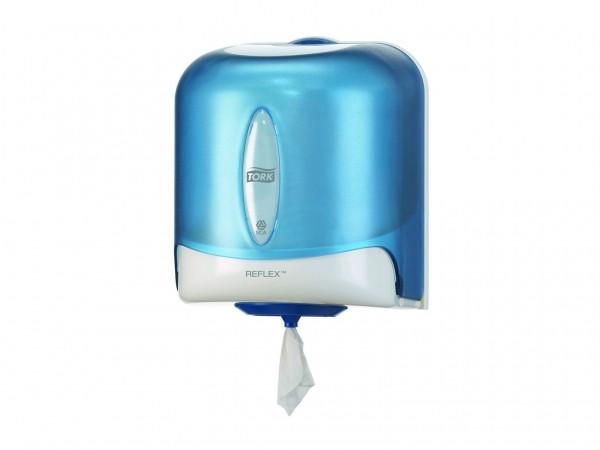 Putztuchrollenspender für Innenabrollung Tork Reflex, Einzelblattspender Kunststoff