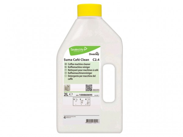 Suma Café Clean C2.4 , Kaffeemaschinenrieniger, 2 x 2 Liter Flasche