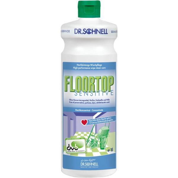 FLOORTOP Sensitive, Wischpflege, 1 Liter Flasche
