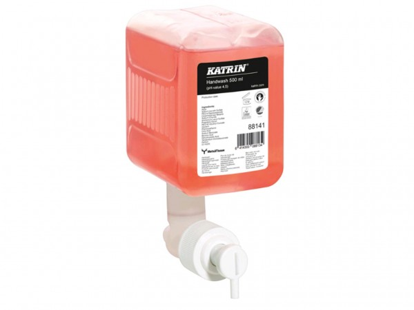 Katrin Classic Handwaschseife, 0.5 Liter Flüssigseife rosa