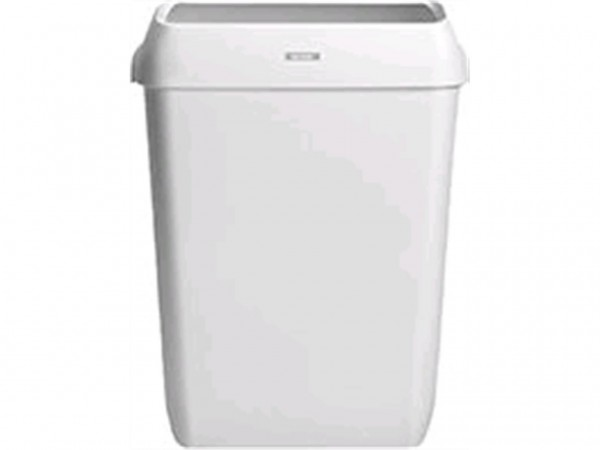Abfallbehälter Katrin 50 Lt., Kunststoff weiss, 575 x 420 x 280 mm