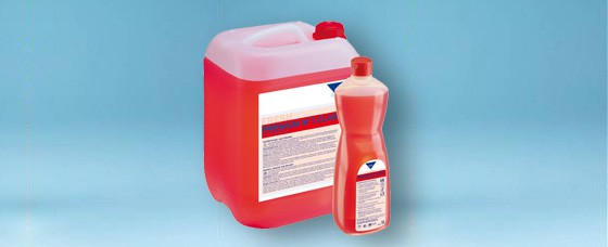 Sanitärunterhaltsreiniger Karton à 6 Flachen à 1 Liter