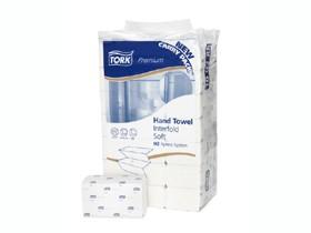 Falthandtücher Tork Premium Interfold H2, TAD/Tissue hochweiss, 2-lagig
