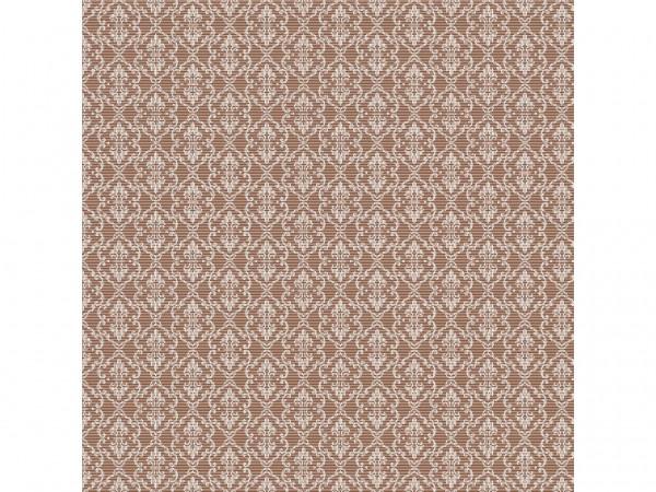 Servietten Spanlin, 40 x 40 cm 1/4 Falz, braun