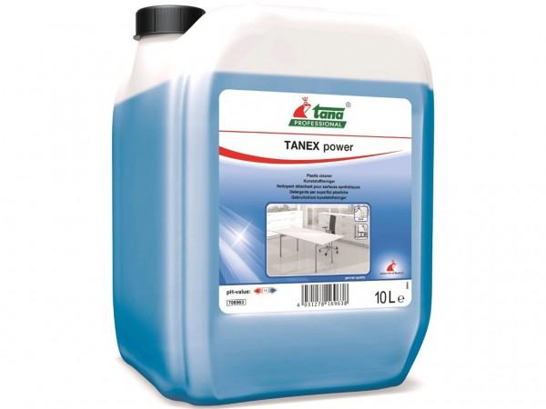 TANEX power, schnellwirkender Kunststoffreiniger, 10 Liter Kanister