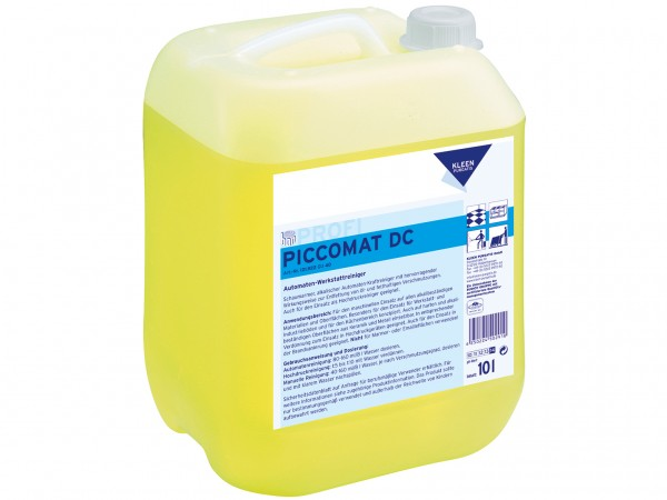 Piccomat DC, Automaten-Werkstattreiniger Für den maschinellen Einsatz auf allen
