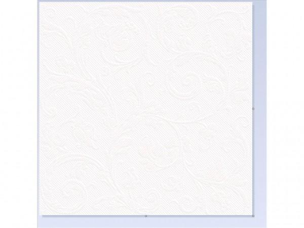 Servietten Spanlin Bio, 40 x 40 cm 1/4 Falz, weiss