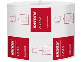 WC-Papier Katrin Classic 2-lagig hochweiss 10 x 12 cm, 800 Blatt