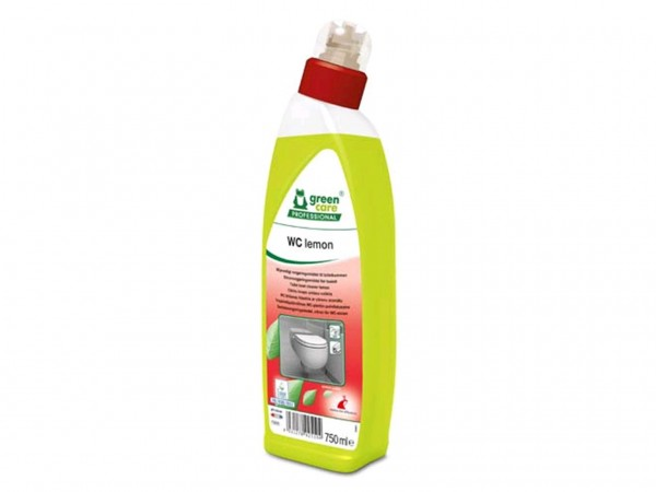 WC lemon, Sanitärreiniger/WC Reiniger mit der Kraft der Zitronensäure