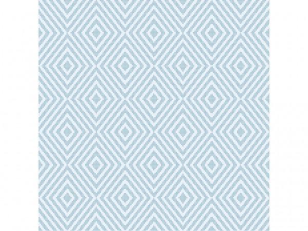 Servietten Spanlin Bio, 40 x 40 cm 1/4 Falz, blau