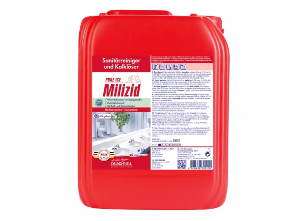 Milizid Pure Ice, Sanitärreiniger und Kalklöser