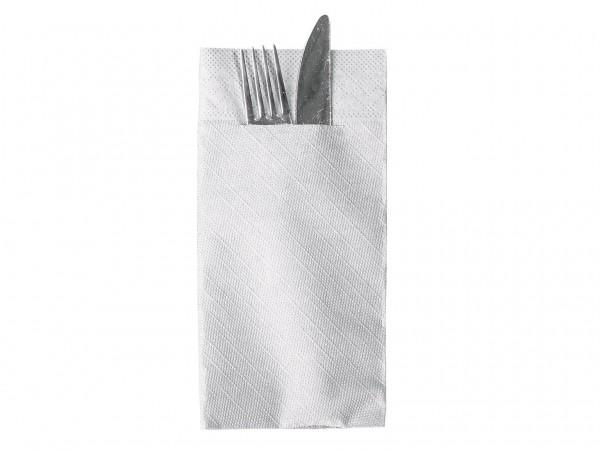 Bestecktasche Tissue Deluxe 4-lagig 1/8 Falz, 40 x 40 cm