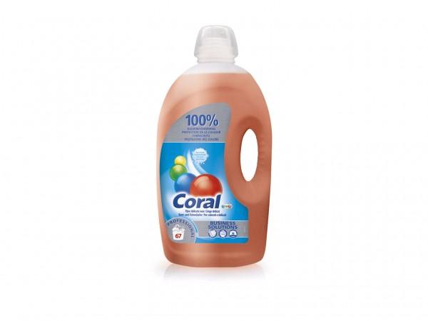 Coral Prof. Bunt- und Feinwaschmittel flüssig, 5 Liter Flasche