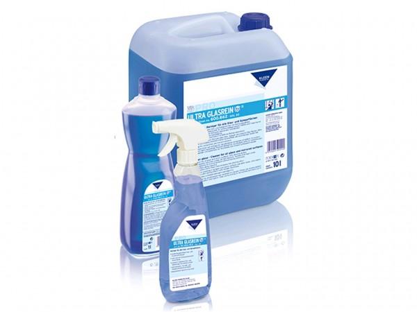 ULTRA GLASREIN, Glas- und Kunststoffreiniger, 10 Liter Kanister