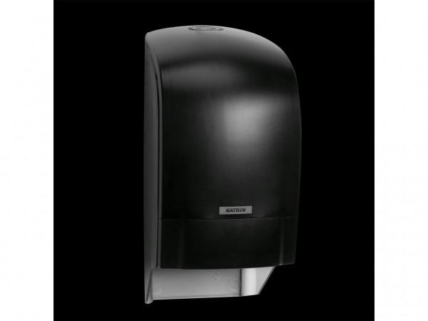 WC-Papier Spender Katrin, Kunststoff schwarz, 313 x 154 x 174 mm