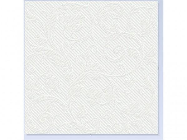 Servietten Spanlin Bio, 40 x 40 cm 1/4 Falz, hellgrau