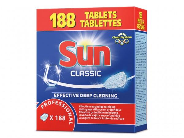 Sun Professional Tabs, Geschirrreiniger für Gewerbe und Haushalt, 188 Tabs
