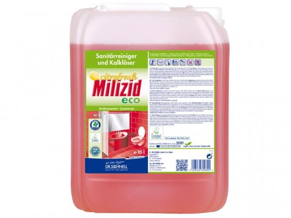 Milizid Citrofresh ECO, ökologischer Sanitärreiniger und Kalklöser, 10 Liter Kanister