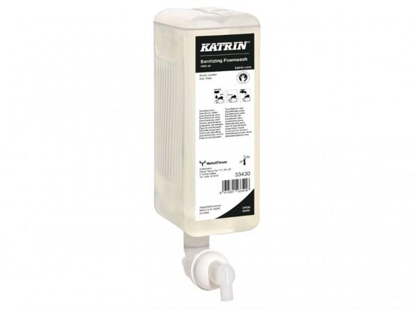 Katrin Handwaschschaum 1.0 Liter, Sanitizing, erfüllt EN 1499 für hygien-