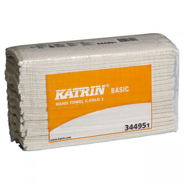 C-Falz Papierhandtuch Katrin Basic 2-lagig