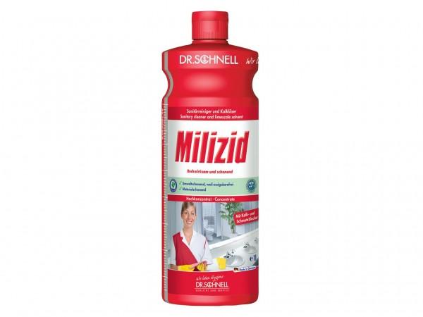 Milizid, Sanitärreiniger und Kalklöser, 1 Liter Flasche