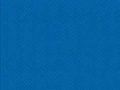Tischset Zellstoff blau