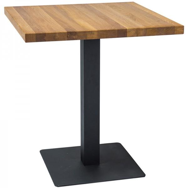 Tisch Puro Eiche massiv 70x70