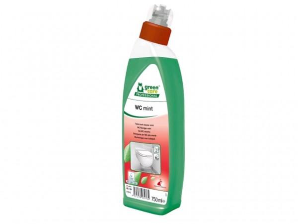 WC-Reiniger WC mint, 10 x 750 ml, Schräghalsflasche, ökologisch