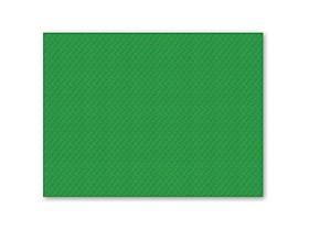 Tischset 1-lagig, 30 x 40 cm, grün geprägt, gerader Rand