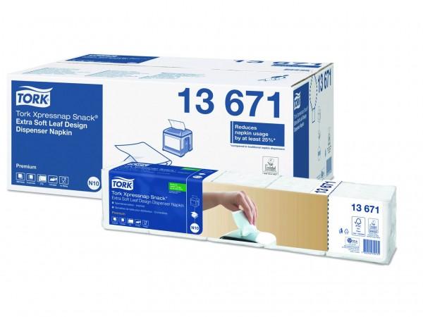 Spenderservietten 2-lagig Tissue, 21.6 x 21.6cm