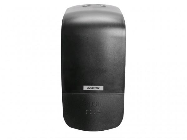 Seifenspender Katrin Inclusive schwarz 204 x 100 x 125 mm, 500ml