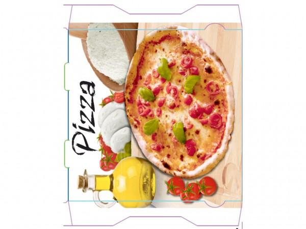Pizzakarton 32 x 32 x 3 cm