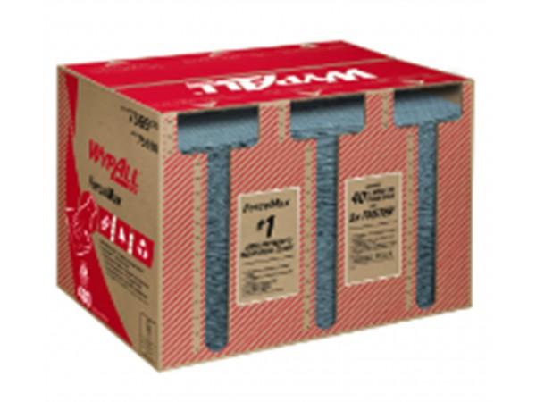 Wypall ForceMax, 33.5 x 34.5 cm, grau HYDROKNIT™ & Baumwolle, 1-lagig