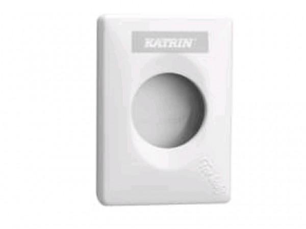 Hygienebeutelspender Katrin weiss 135 x 27 x 95 mm
