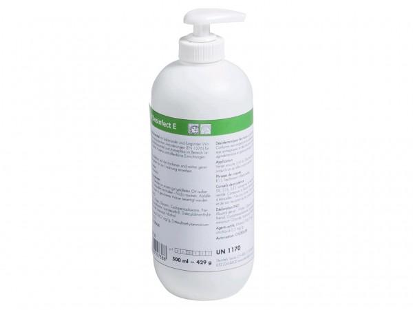 Händedesinfektionsmittel 500 ml, Dispenserflasche