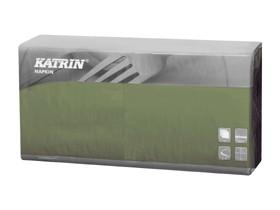 Servietten Katrin 2-lagig, 40 x 40 cm 1/4 Falz, grün