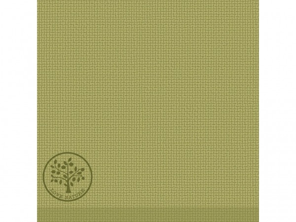 "Servietten Airlaid, 40 x 40 cm, 1/4 Falz, ""LOVE NATURE"" oliv"
