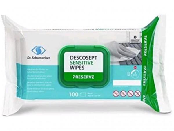Desinfektiontücher Descosept Sensitive