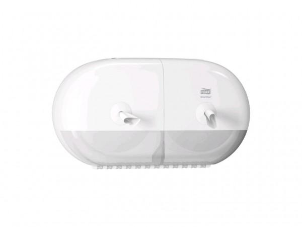 WC-Papier Spender Mini Smart One T9 Kunstsoff, weiss, B398 x H221 x T156 mm