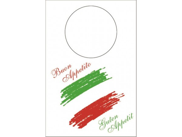 "Schutzservietten Vliesstoff, 60 x 42 cm, ""BUON APPETITO"" Italia"