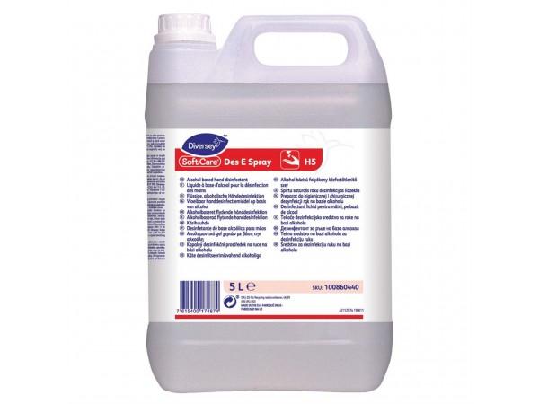 Händedesinfektionsmittel Soft Care Des, 2 x 5 L