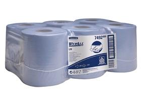 Putztuchrollen Wypall L10 blau 1-lagig 18.5 x 38 cm, 100% Zellstoff, 400 Tücher