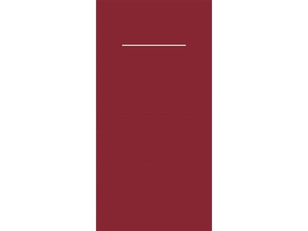 Bestecktasche, 60 gm2, 40 x 40 cm, bordeaux