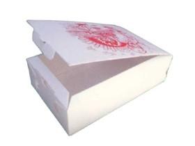 """Pizzakarton 27 x 16 x 7 cm """"CALZONE"""" Qualität Kraft 1209, Neutraldruck"""