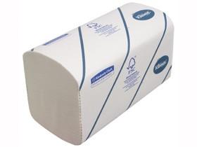 Falthandtücher Kleenex® ULTRA 21.5 x 21 cm 2-lagig, Interfold, weiss