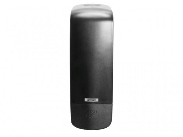 Seifenspender Katrin Inclusive schwarz 291 x 100 x 130 mm, 1000 ml