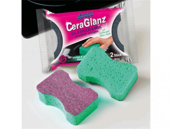 Reinigungsschwamm Abrazo Cera Glanz Glasschaber und Galsreiniger in einem