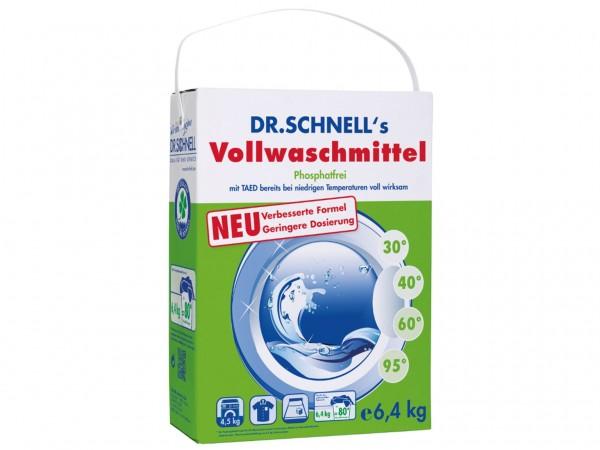 Dr. Schnells Vollwaschmittel für Weiss- und Buntwäsche, sehr gutes Ergebnis