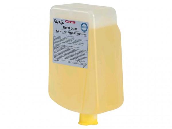 Schaumseife CWS BestFoam Slim Standard 500 ml Seifenkonzentrat, cremefarben